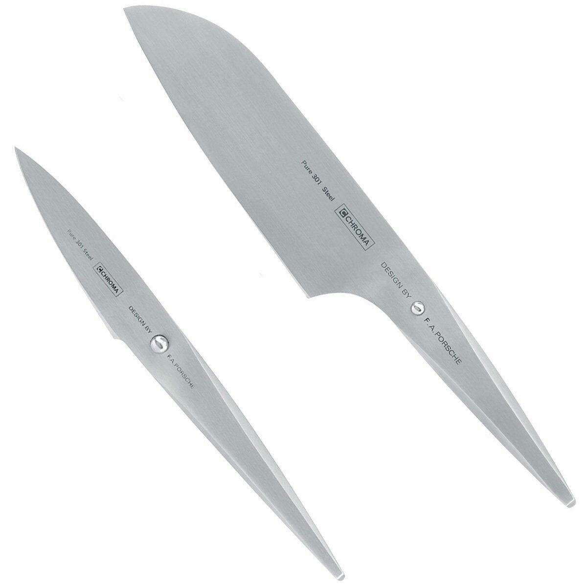 Chroma Japanese Knife Set - 2 piece Stainless