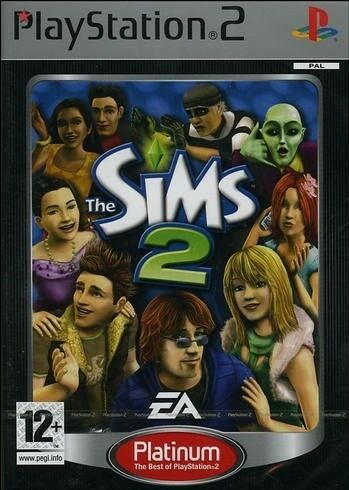 The Sims 2 - Platinum, PS2, simulation