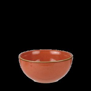 Churchill STONECAST Soup Bowl Spiced Orange Schüssel Porzellan 47 cl rot