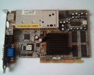 Asus AGP-V7100 Deluxe Combo Driver Download