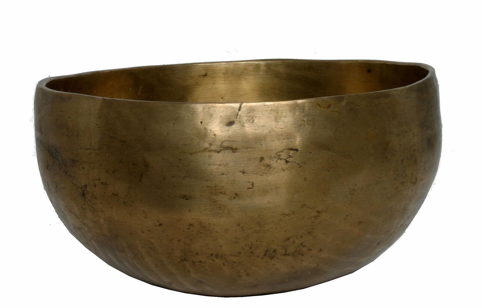 Suono GUSCIO singing bowl Tibet hörprobe Cuenco tibetano meditazione 574g m69h