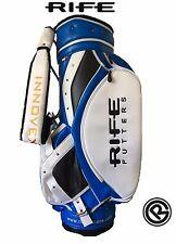 Rife Putter Tour Performance Golf Cart Tour Personale Borsa NUOVO BLU BIANCO