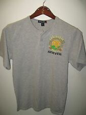 Oregon Brewers Festival Portland USA 2009 Beer Server Button Jersey T Shirt Med