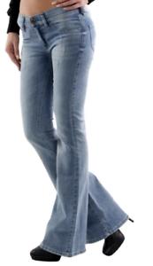 Diesel Livier Flare Womens Jeans W32 L32 Wash 0851Z Slim Flare 32W 32L  NEW