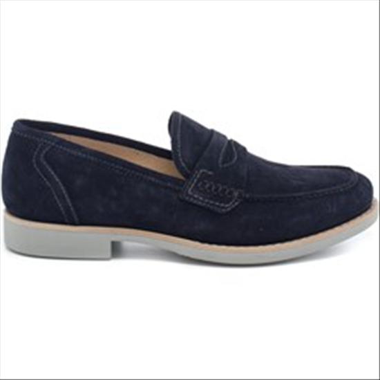 Schuhe NEROGIARDINI Mod. P704832U Far. 200 Blu-39
