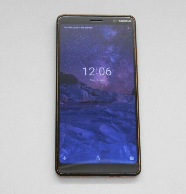 Nokia 7 Plus TA-1062 64GB Black Copper Dual Sim