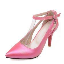 item 1 womens Plus Size High heels ladies Party Buckled Pumps mid heel shoes  0-15 mens -womens Plus Size High heels ladies Party Buckled Pumps mid heel  ... 508decb083