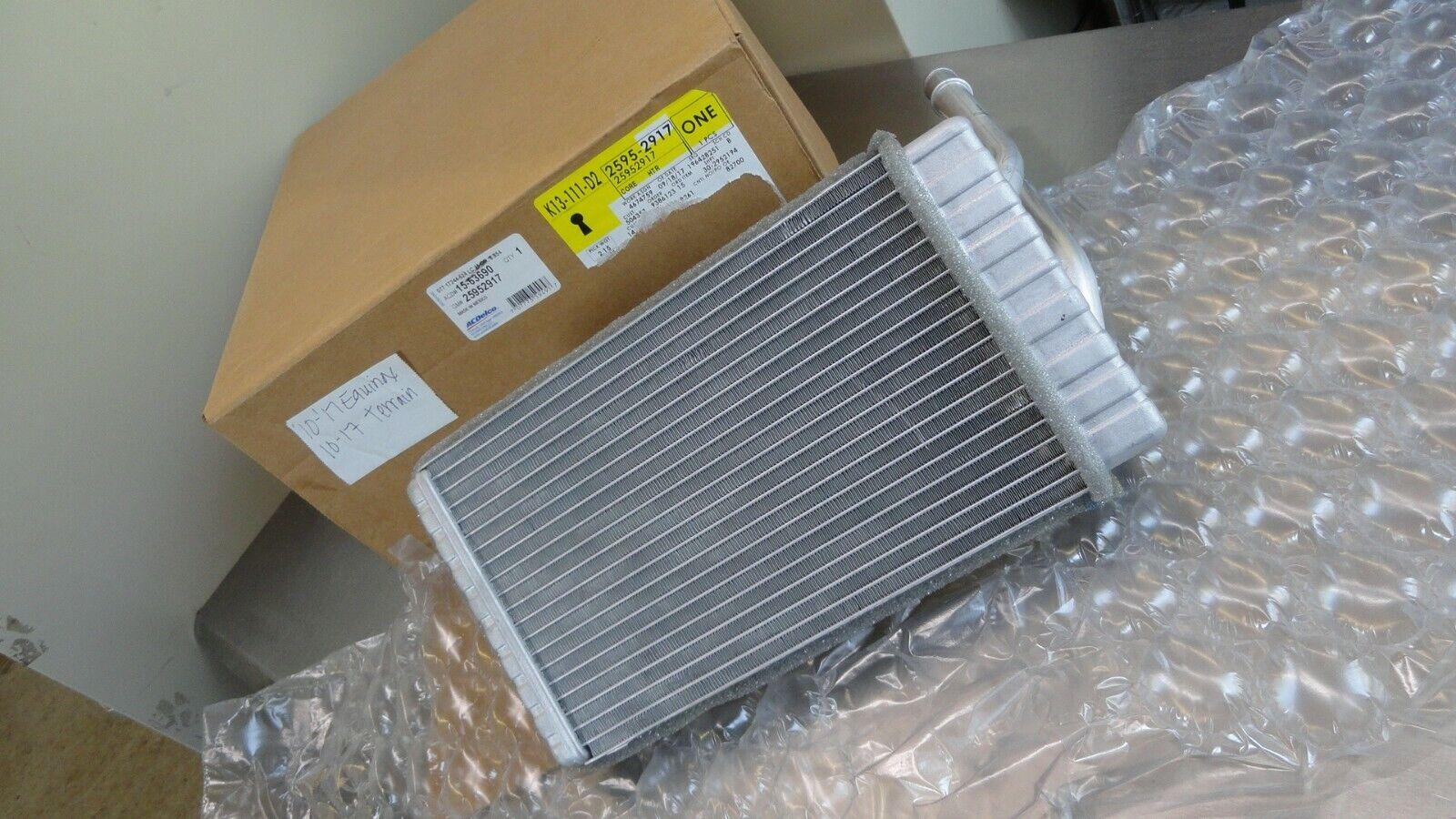 GM OEM-Hvac Heater Core 25952917