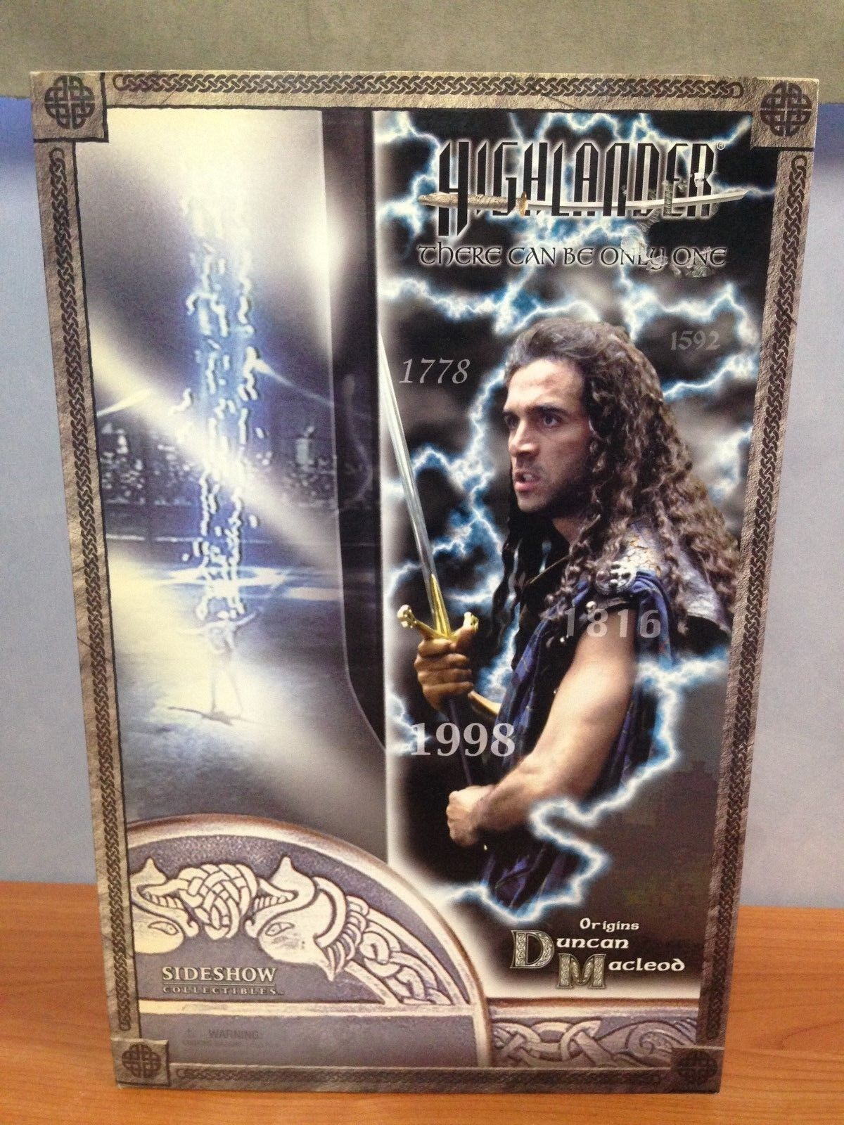 Sideshow Collectibles Highlander 1 6 Scale Action Figure - Duncan MacLeod - MISB