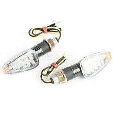 2 x 14 LED Blinker für Moped/Motorrad gelb 12V Neu