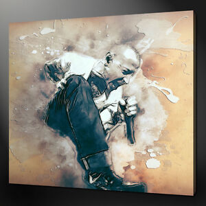 Chester Bennington Linkin Park Canvas Wall Art Picture Print Variety Of Sizes Ebay