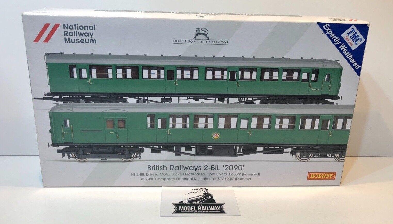 HORNBY 00 GAUGE - R3177 - BRITTISH järnvägWAYS 2 -BIL 2090 TMC WEATERAD 2 bil EMU