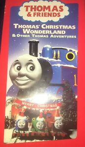 Thomas Christmas Wonderland Vhs.Details About Thomas Friends Vhs Thomas Christmas Wonderland 2000 Kids Movie Tested Rare