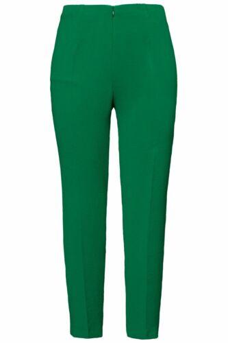 ULLA POPKEN businesshose JAPON-Qualité étroit jambe Vert Nouveau