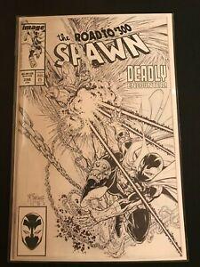 Spawn-298-McFarlane-Black-amp-White-Variant-2019-NM-Image-Comics-1st-Print