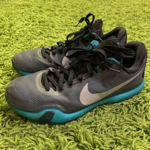Nike Kobe X 10 Liberty Radiant Emerald Silver Blac