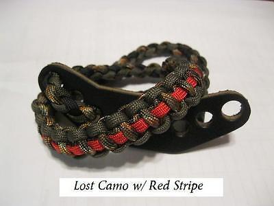 Mathews No Cam Triax Halon DXT Lost Camo Custom Paracord Bow Wrist Sling