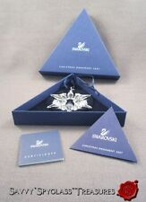 MIB Swarovski Crystal Snowflake Star Christmas Ornament Annual for 2007