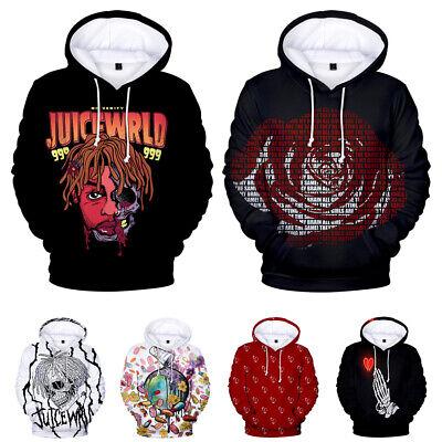 3D Print Hoodies Mens 3D Printed Hoodie Hooded Mens Winter Coats Loose Long Sleeve Sweatershirt Tops