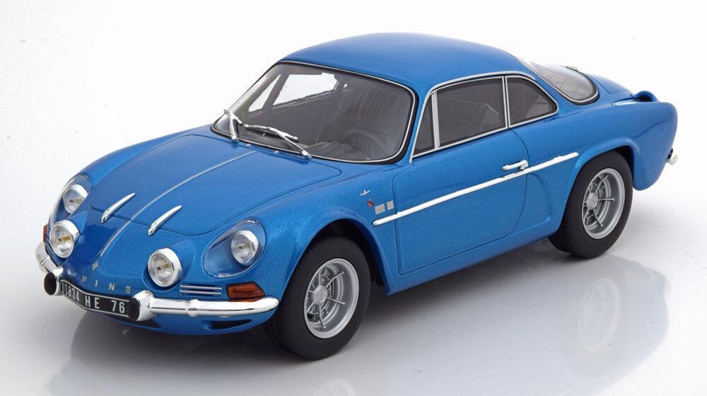 Norev 1971 RENAULT ALPINE A110 1600S Blu mettuttiizzato Scala 118 Nuova Release