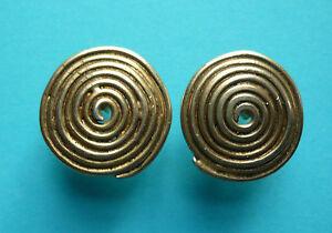 """Eleganter Ohrstecker """"Spirale"""" – Silber vergoldet - Deutschland - Eleganter Ohrstecker """"Spirale"""" – Silber vergoldet - Deutschland"""