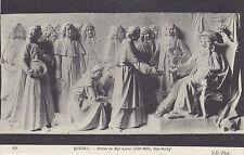 Statue de Mgr Laval Bas Relief QUEBEC Qc Canada 1907-15 ND Phot Postcard 479