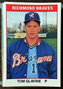 1987 TCMA  (CMC)  RICHMOND BRAVES Minor League Complete Team Set F6020505