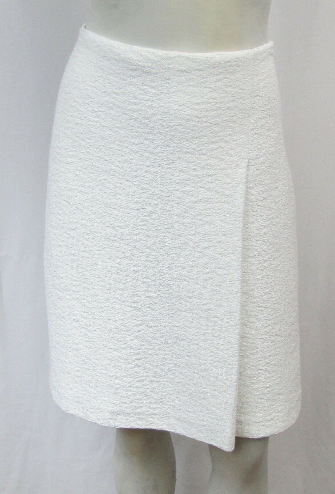 NEW St. John A Line Skirt 4 Small Clair Knit Textured Sample 4 6 2017 Resort