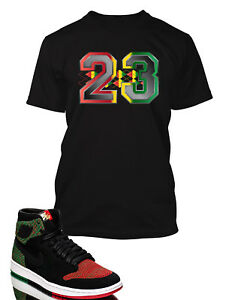 23-Graphic-Tee-shirt-To-match-Air-Jordan-1-Retro-High-Flyknit-BHM-Shoe-Graphic