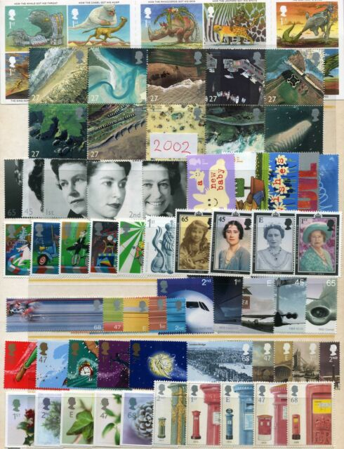 Commemorative MINT MNH YEAR SETS COMMEMORATIVES OR MINIATURE SHEETS 1990 - 2011