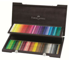 Faber Castell Polychromos Pencil - 120 Colour - Wooden Box