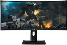 "Acer Curved 34"" UWQHD IPS HDMI, DisplayPort, FreeSync"