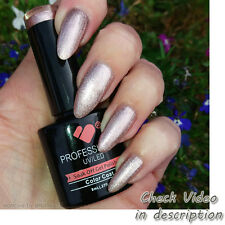 PL011 VB™ Line Platinum Rose Gold Metallic - 8ml nail gel polish - vbline-co-uk