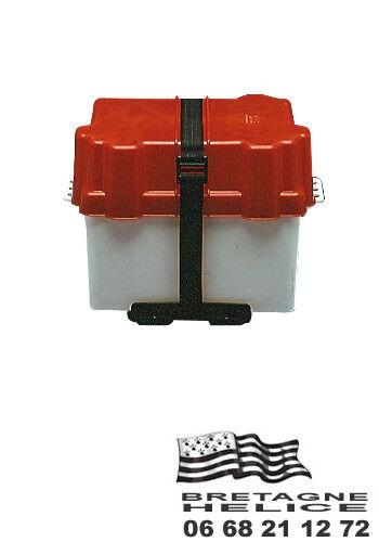 Bac à batterie étanche petit modèle dimensions intérieures 280 x 190 x 200 MM