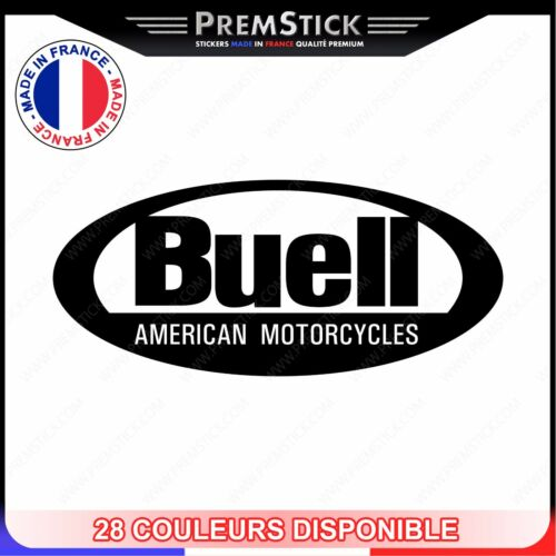 Scooters Sticker Buell American Motorcycle-Motorbike ref3 Bicycles