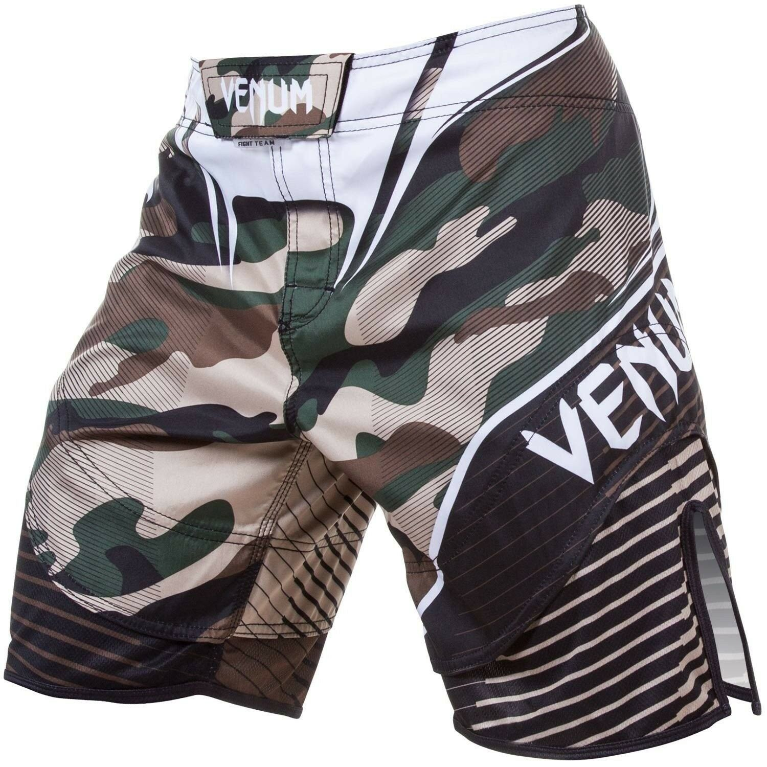 Venum Camo Hero Fight Shorts - Grün braun, Gr. S - XL. Grappling. MMA.