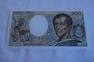 200-FRANCS-MONTESQUIEU-NEUF