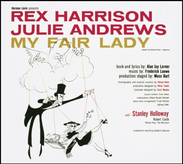MY FAIR LADY - ORIGINAL CAST SOUNDTRACK CD ~ JULIE ANDREWS~REX HARRISON *NEW*