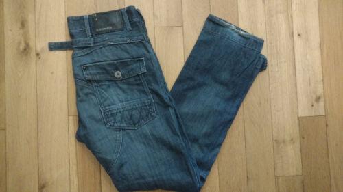 34l 34w Raw G Jeans misura Uomo star Slim Blue g1q8w