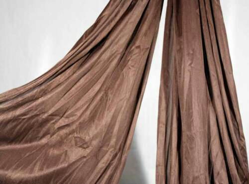 54 inches wide Chocolate Aerial Silk