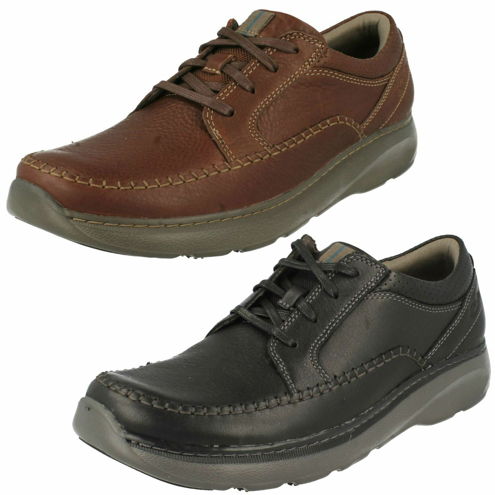Mens Clarks Casual Lace Up schuhe Charton Vibe