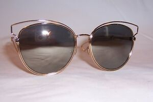93de6f70311d NEW CHRISTIAN DIOR SIDERAL 2/S 000-UE GOLD/IVORY MIRROR SUNGLASSES ...