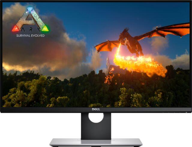 """Dell - 27"""" LED QHD G-SYNC Monitor - Black"""