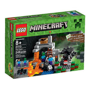LEGO-Minecraft-21113-THE-CAVE-BRAND-NEW-FAST-AU-DEL