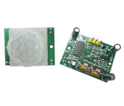 1Pcs HC-SR501 Réglez Pyroelectric Infrared IR PIR Motion Capteur Réglez  Module