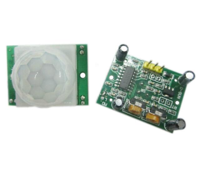 1Pcs HC-SR501 Adjust Pyroelectric Infrared IR PIR Motion Sensor Detector Module