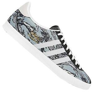 Dettagli su Adidas Originals Gazelle Uomo Sneaker Scarpe da Ginnastica Foglie Nature Nero