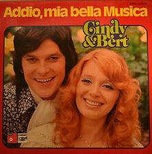 "CINDY & BERT - ADDIO, MIA BELLA MUSICA 12"" LP (626)"
