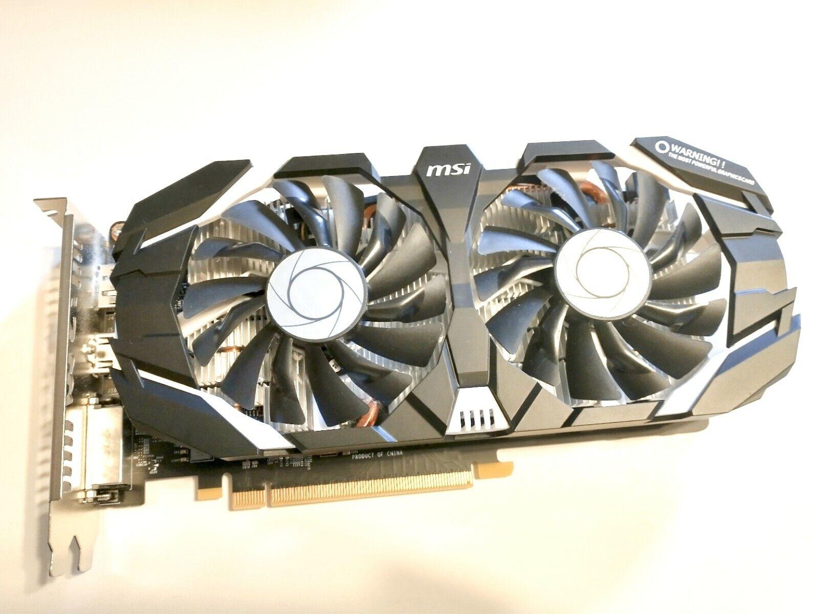 MSI Geforce GTX 1060 3GB OC Gaming Graphics Card DVI HDMI DP PORT
