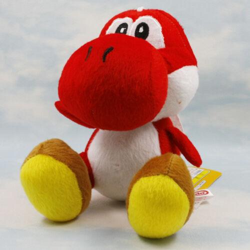 "9 Pcs Super Mario Brothers Yoshi Plush 6/"" Dolls Colors Available  Kids Fun Gift"